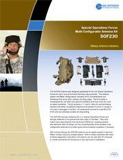 SOF230 Antenna Kit Brochure